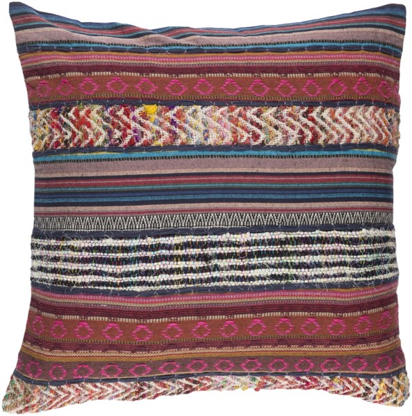 Marrakech Ivory Rust Poly Cotton Throw Pillow (L 20 X W 20 X H 5) MR002-2020P