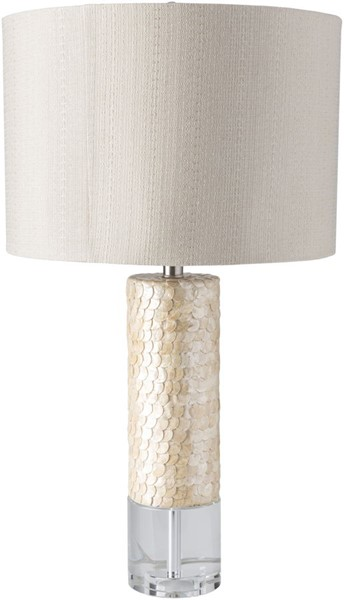 Surya Marco Beige Crystal Table Lamp - 16x29 MRO-100