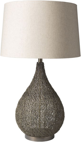 Surya Mccrory Ivory Metal Table Lamp - 19x31 MRY100-TBL