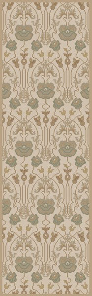 Mentone Contemporary Beige Olive Gray New Zealand Wool Rugs 12746-VAR1