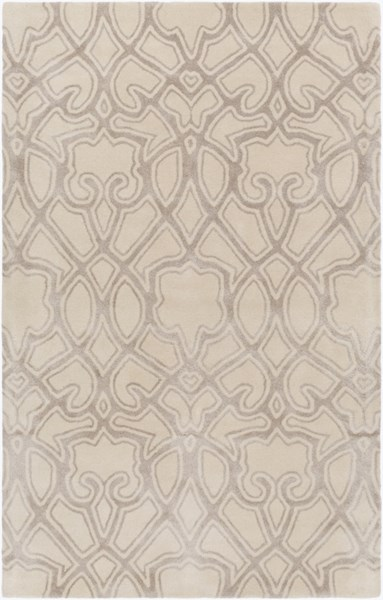 Mount Perry Ivory Light Gray New Zealand Wool Area Rug - 60 x 96 MTP1011-58