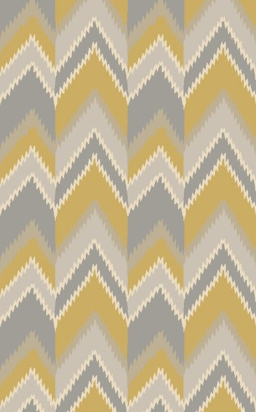 Mount Perry Gold Gray Beige New Zealand Wool Area Rug - 60 x 96 MTP1030-58
