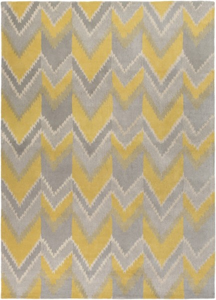 Mount Perry Gold Gray Beige New Zealand Wool Area Rug - 96 x 132 MTP1030-811