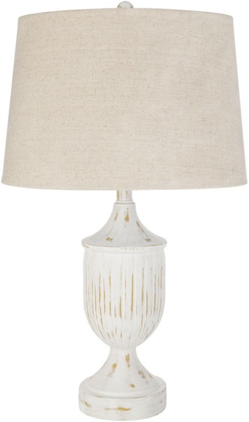 Surya Mathis Ivory White Table Lamp - 15x25.50 MTS-003