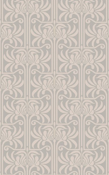 Natura Contemporary Slate Beige Wool Area Rug (L 96 X W 60) NAT7055-58