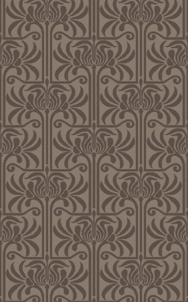 Natura Contemporary Charcoal Light Gray Wool Area Rug (L 96 X W 60) NAT7057-58