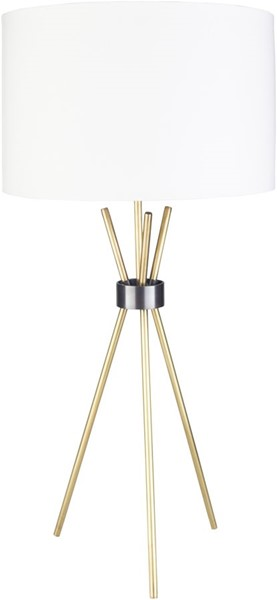 Surya Nathan Metal Table Lamps - 17x17 NTN-00-LAMP-VAR