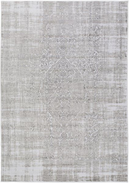Nova Traditional Ivory Light Gray Olive Polypropylene Rugs 14587-VAR1