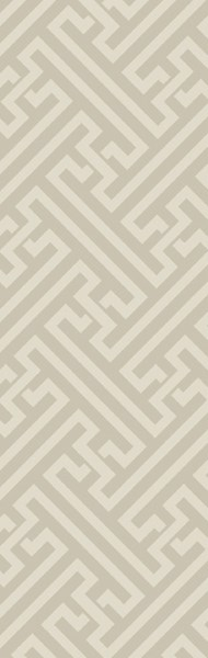 The Oakes Contemporary Moss Wool Geometric Runner OAK6008-268