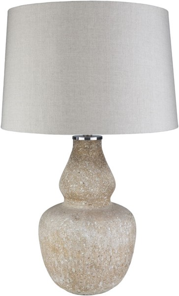 Surya Orlando Beige Glass Table Lamp - 18x18 ODO-001
