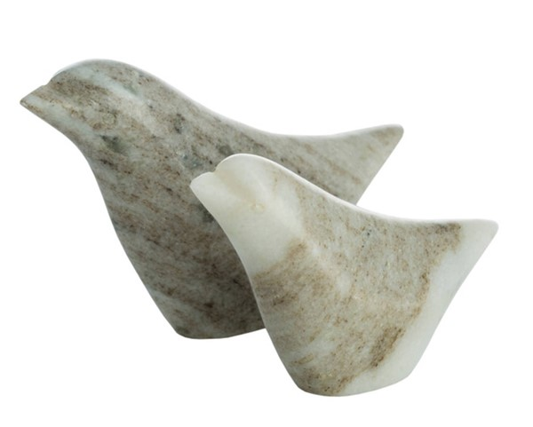 Surya Oriole Brown Stone 2pc Decorative Accent Set OLE003-SET