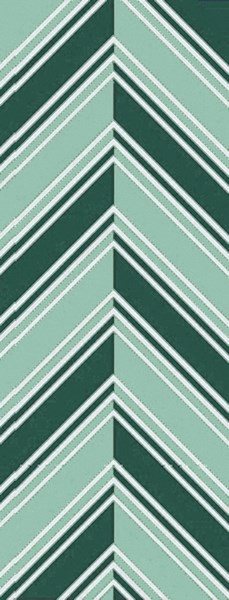 Opera Contemporary Mint Green Slate Poly Acrylic Runner (L 96 X W 30) OPR6001-268