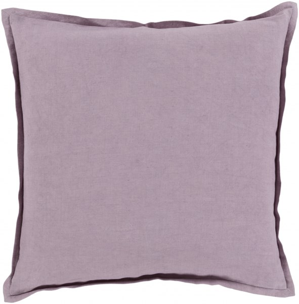 Orianna Pillow with Poly Fill in Lavender - 18 x 18 x 4 OR001-1818P