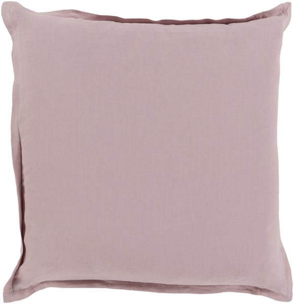 Orianna Pillow with Poly Fill in Salmon - 22 x 22 x 5 OR003-2222P