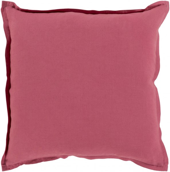 Orianna Pillow with Down Fill in Cherry - 20 x 20 x 5 OR004-2020D