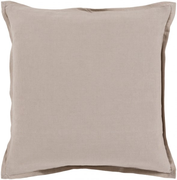 Orianna Pillow with Poly Fill in Gray - 20 x 20 x 5 OR005-2020P