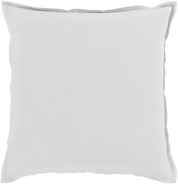Orianna Pillow with Down Fill in Ivory - 20 x 20 x 5 OR007-2020D