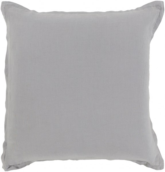 Orianna Pillow With Poly Fill In Dark Gray - 20 x 20 x 5 OR008-2020P