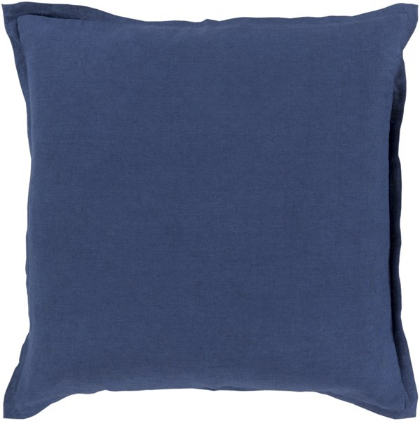 Orianna Pillow with Down Fill in Cobalt - 22 x 22 x 5 OR011-2222D