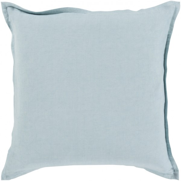 Orianna Pillow with Down Fill in Slate - 18 x 18 x 4 OR013-1818D