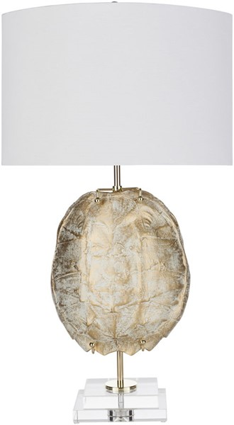 Surya Olson White Crystal Table Lamp - 17x32 OSN-001