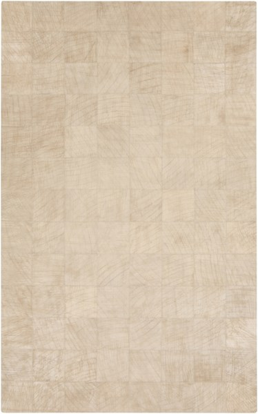 Outback Modern Beige Hair On Hide Area Rug (L 96 X W 60) OUT1006-58