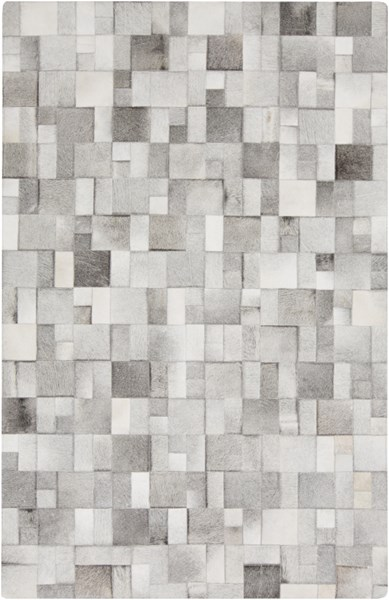 Outback Light Gray Beige Tan Hair On Hide Rugs OUTBACK-DCR-BNDL