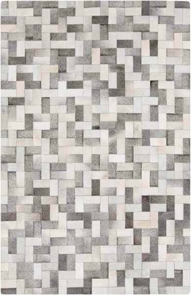Outback Modern Light Gray Taupe Hair On Hide Area Rug (L 96 X W 60) OUT1012-58