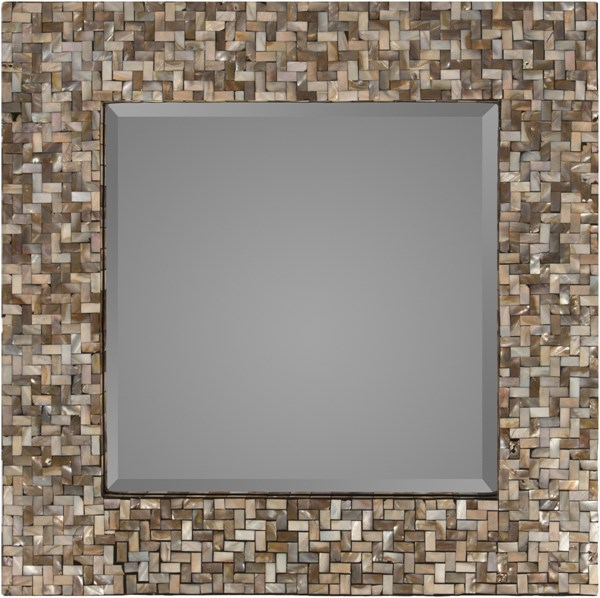 Overton Neutral MDF Wall Mirror - 23.6x23.6 OVE-3300