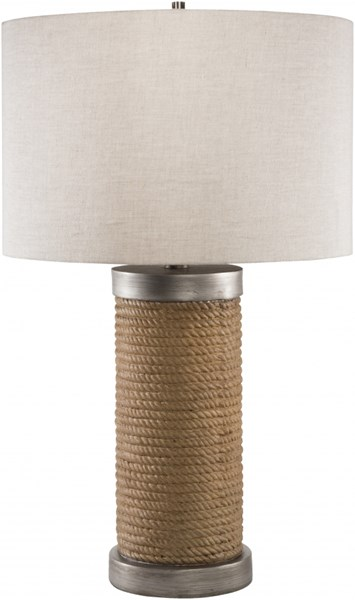 Owen Brown Resin Linen Table Lamp - 15x26.5 OWLP-001
