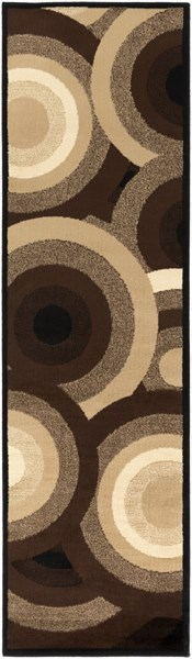 Paramount Mocha Taupe Moss Chocolate Polypropylene Runners & Rugs PARAMOUNT-DCR-BNDL