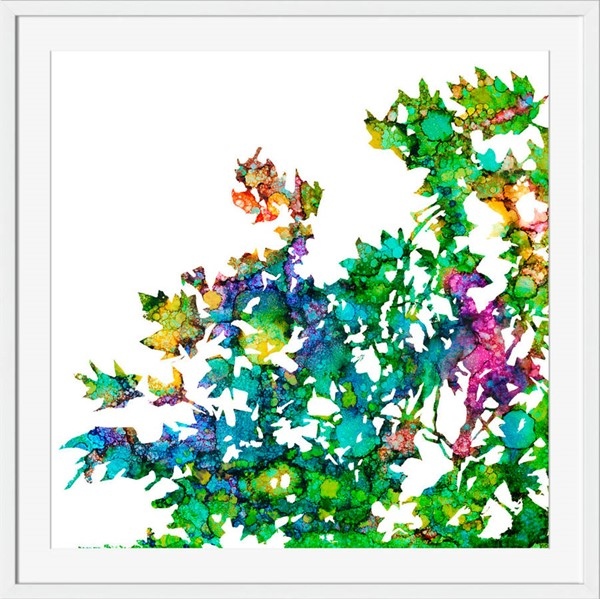 Surya Eternal Paper Prismatic Patch II Wall Art - 16x18 PC106A001-1618