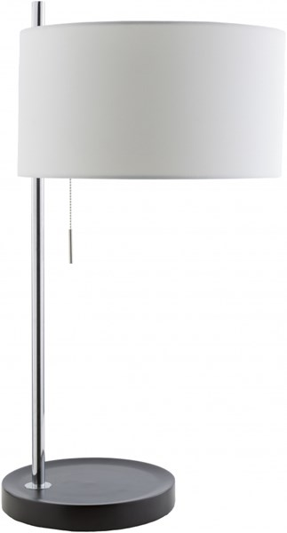 Percy Chrome Mdf Cotton Table Lamp - 14.96x33.23 PCY590-TBL