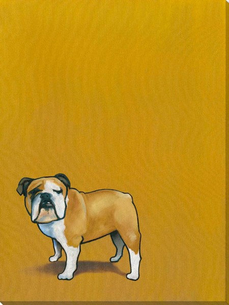 Surya Eternal Canvas Puppy Pageant III Wall Art - 21x28 PE102A001-2128