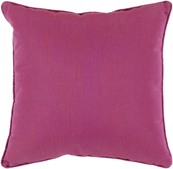 Piper Contemporary Magenta Cobalt Acrylic Throw Pillows 13674-VAR1