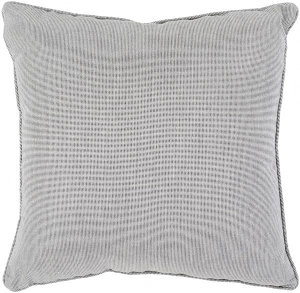 Piper Gray Acrylic Throw Pillow - 16x16x4 PI006-1616
