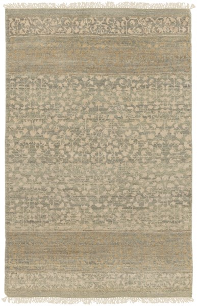 Palace Contemporary Olive Beige Taupe Wool Rugs 1881-VAR1