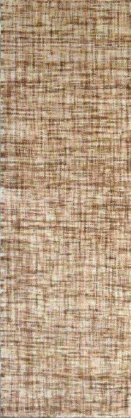 Plymouth Taupe Ivory Mocha Wool Runner - 30 x 96 PLM4000-268
