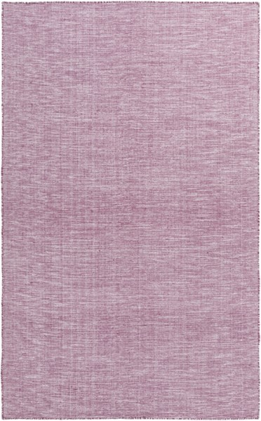 Pipton Eggplant Ivory Wool Cotton Area Rug - 60 x 90 PPT6000-576