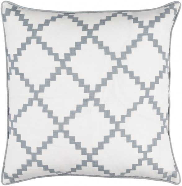 Parsons Pillow with Poly Fill in Slate - 18 x 18 x 4 PR003-1818P