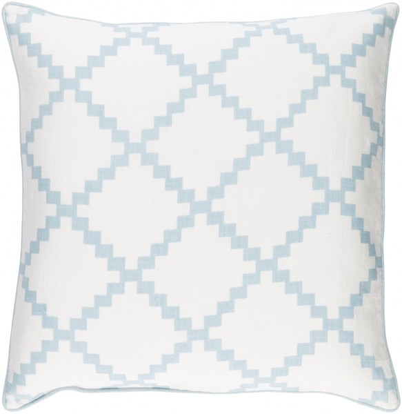 Parsons Pillow With Poly Fill In Slate Blue - 22 x 22 x 5 PR005-2222P