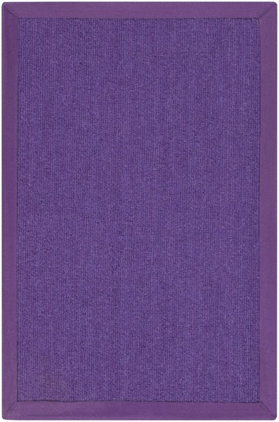 Perry Contemporary Violet Wool Hand Loomed Area Rug 12882-VAR1