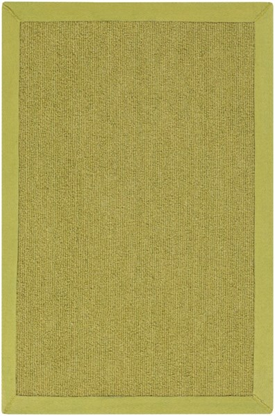 Perry Contemporary Lime Wool Tone On Tone Area Rug (L 36 X W 24) PRY9003-23