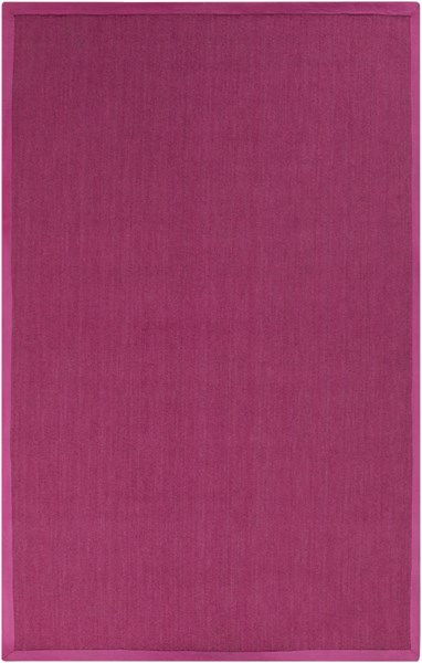 Perry Contemporary Hot Pink Wool Area Rug PRY9005-58