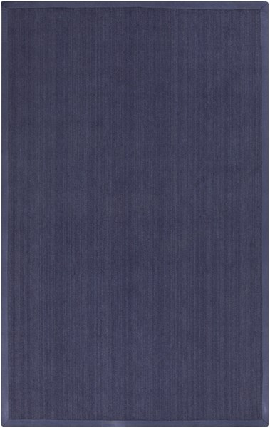 Perry Contemporary Navy Wool Tone On Tone Area Rug PRY9006-58
