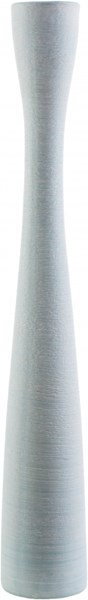 Pascadero Modern Sky Blue Light Gray Ceramic Floor Vase PASCADERO-DCR-BNDL