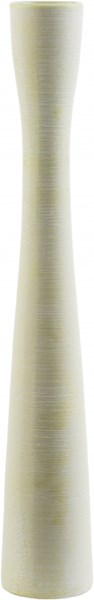 Pascadero Modern Beige Ceramic Table Vase - 2.56W x 2.56L PSC100-S