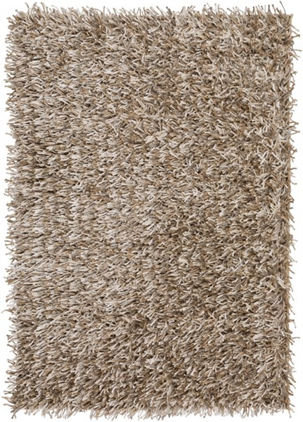 Prism Contemporary Ivory Light Gray Teal Polyester Area Rugs 982-VAR1