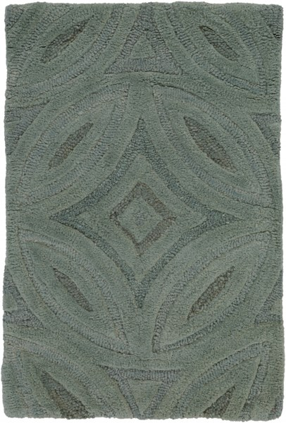 Perspective Contemporary Gray Taupe Beige Fabric Hand Tufted Rug PERSPECTIVE-DCR-BNDL