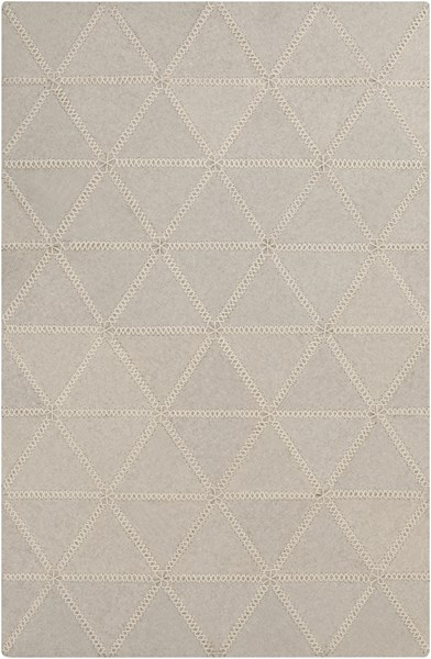 Patch Ivory Felted Wool Area Rug - 60 x 90 PTC4001-576